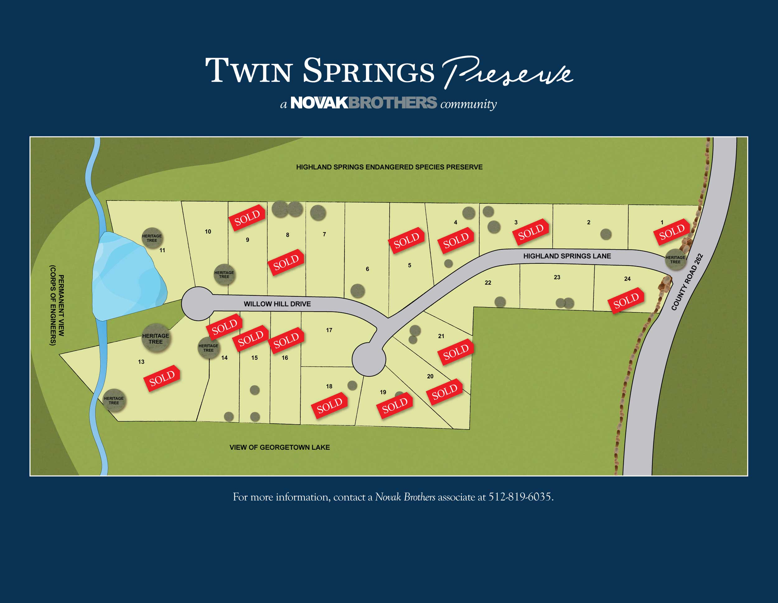 Twin Springs Preserve Masterplan