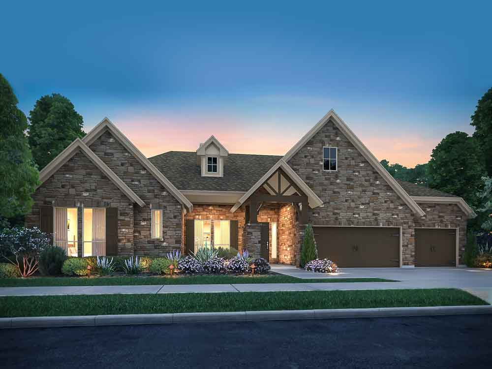 Deer Haven Ashbury Floorplan - 108 Axis Loop