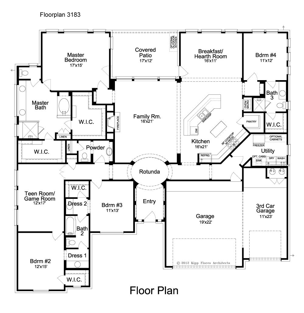 Deer Haven Ashbury Floorplan - 108 Axis Loop - First Floor
