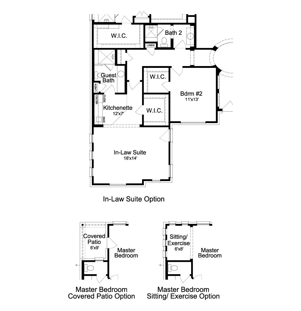 Deer Haven Ashbury Floorplan - 108 Axis Loop - Optional Features