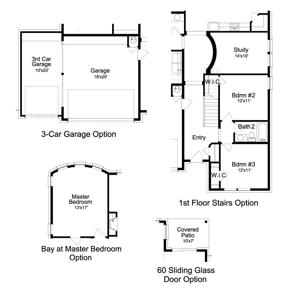 Deer Haven Avalon Floorplan - 311 Axis Loop - Optional Features