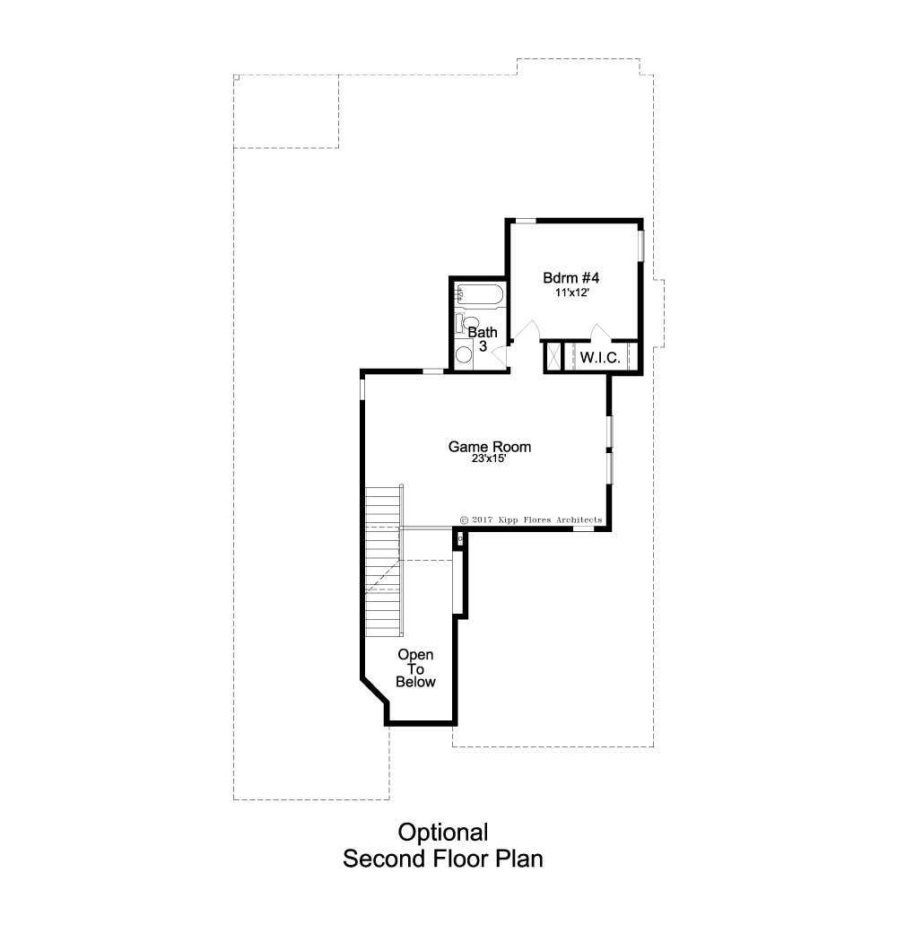 Deer Haven Avalon Floorplan - 332 Axis Loop - Optional Second Floor