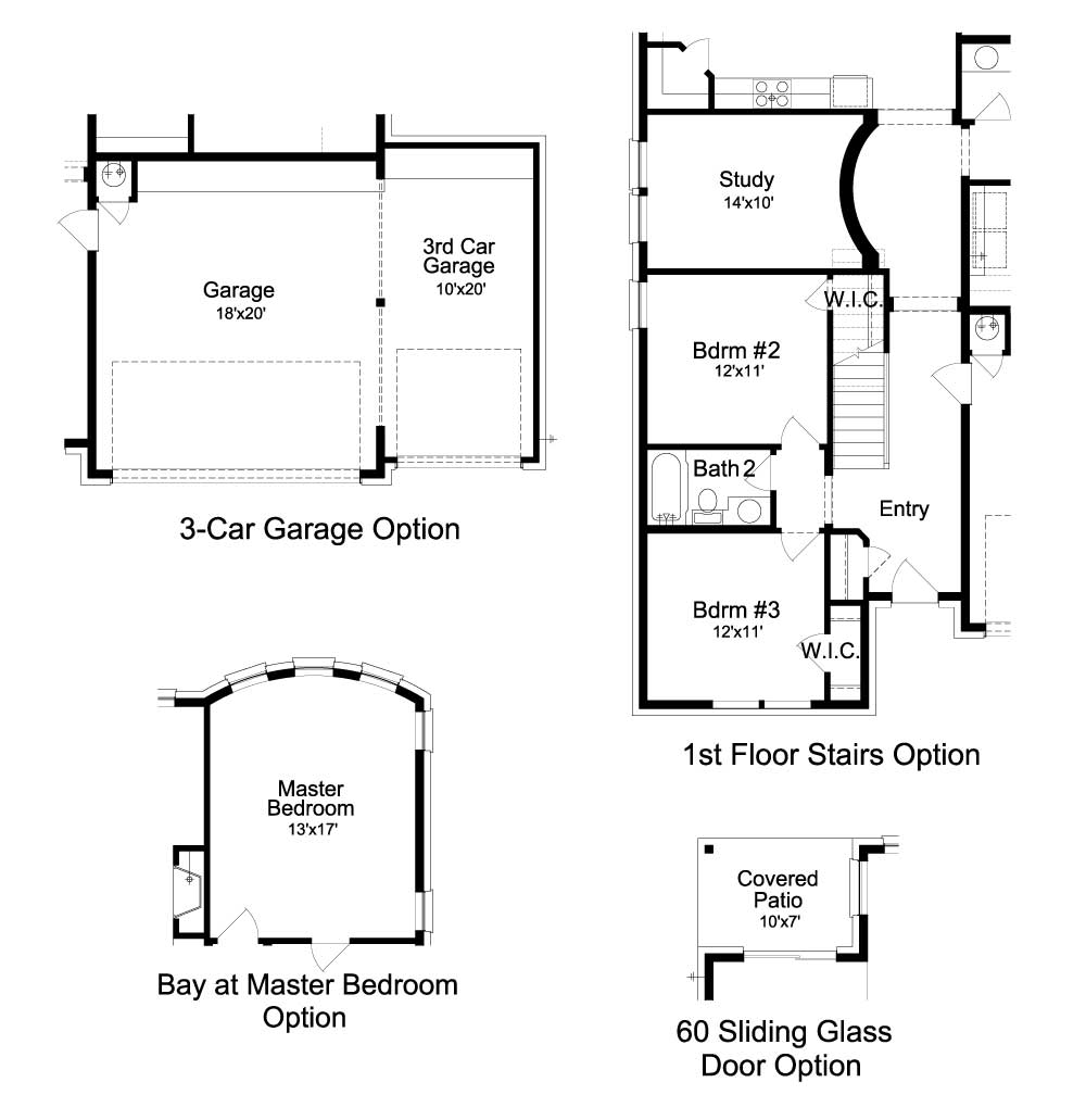 Deer Haven Avalon Floorplan - 332 Axis Loop - Optional Features